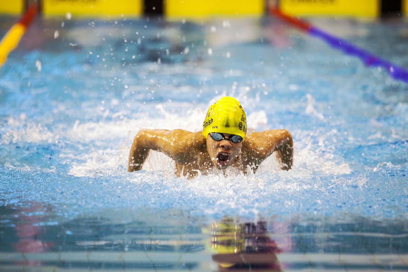 28ste Swimmeet Maastricht in zwembad de Geusselt.