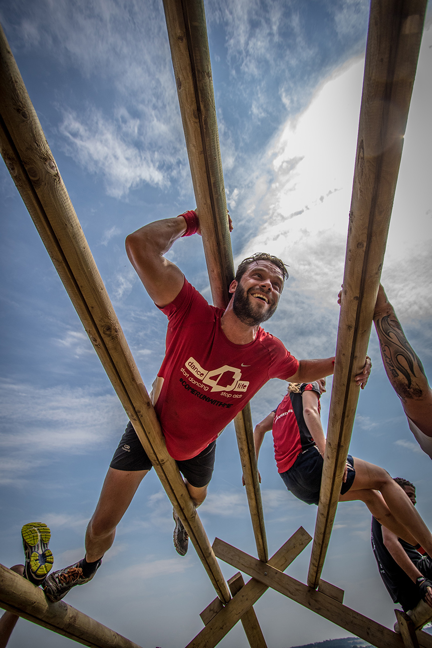 Eerste Battle of Maestricht obstacle race